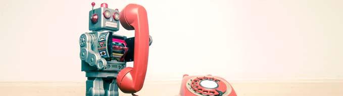 Робот телефонист